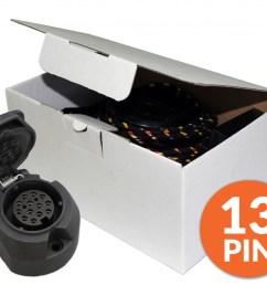 alfa romeo giulietta 07 2010 onwards 13 pin pf jones dedicated wiring kit [ 1024 x 853 Pixel ]
