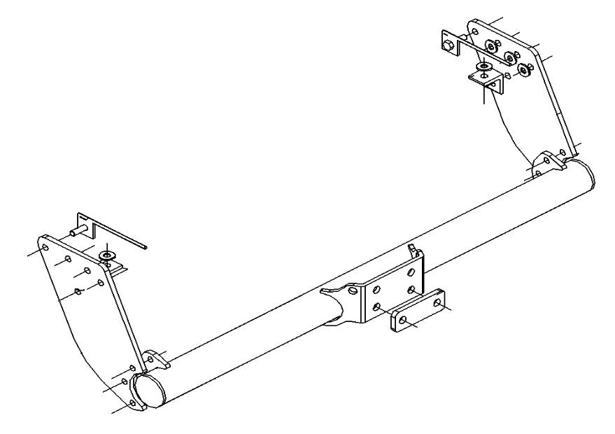 Towbar for Mitsubishi L200 2WD & 4WD Pickup 1996-2006