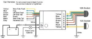 Universal TEB7AS Bypass Relay Towing Electrics  Towbar