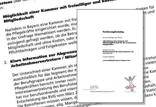 Forderungskataloge an die Landesregierungen in Baden