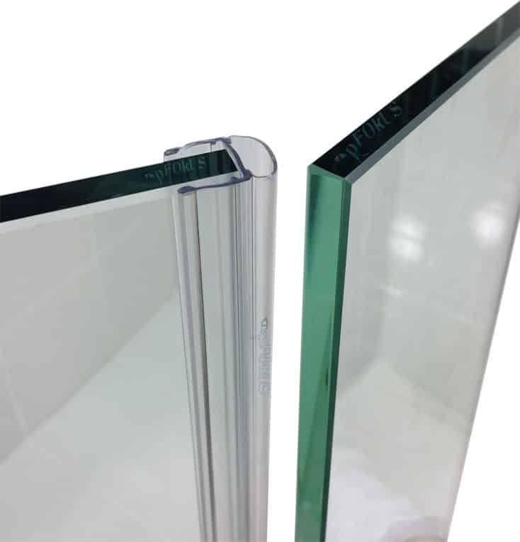 DS102 Frameless Shower Door Sweep  Shower Sweeps  pFOkUS
