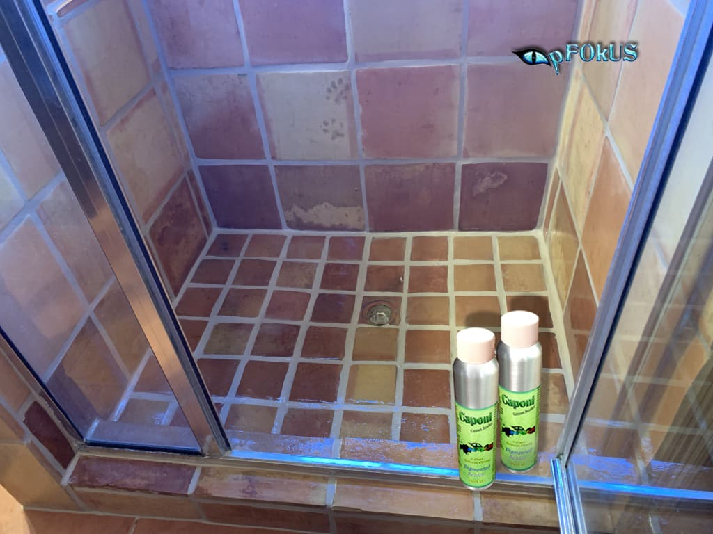 bathroom with the best epoxy grout sealer