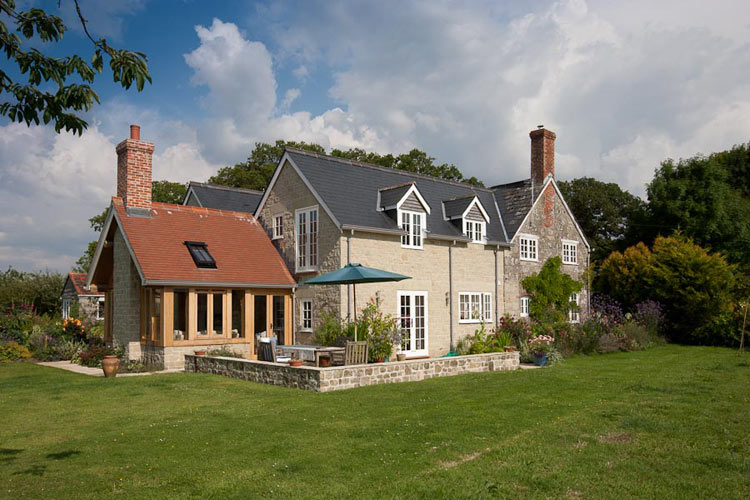 Stone Farm House Extension Dorset PF Parsons