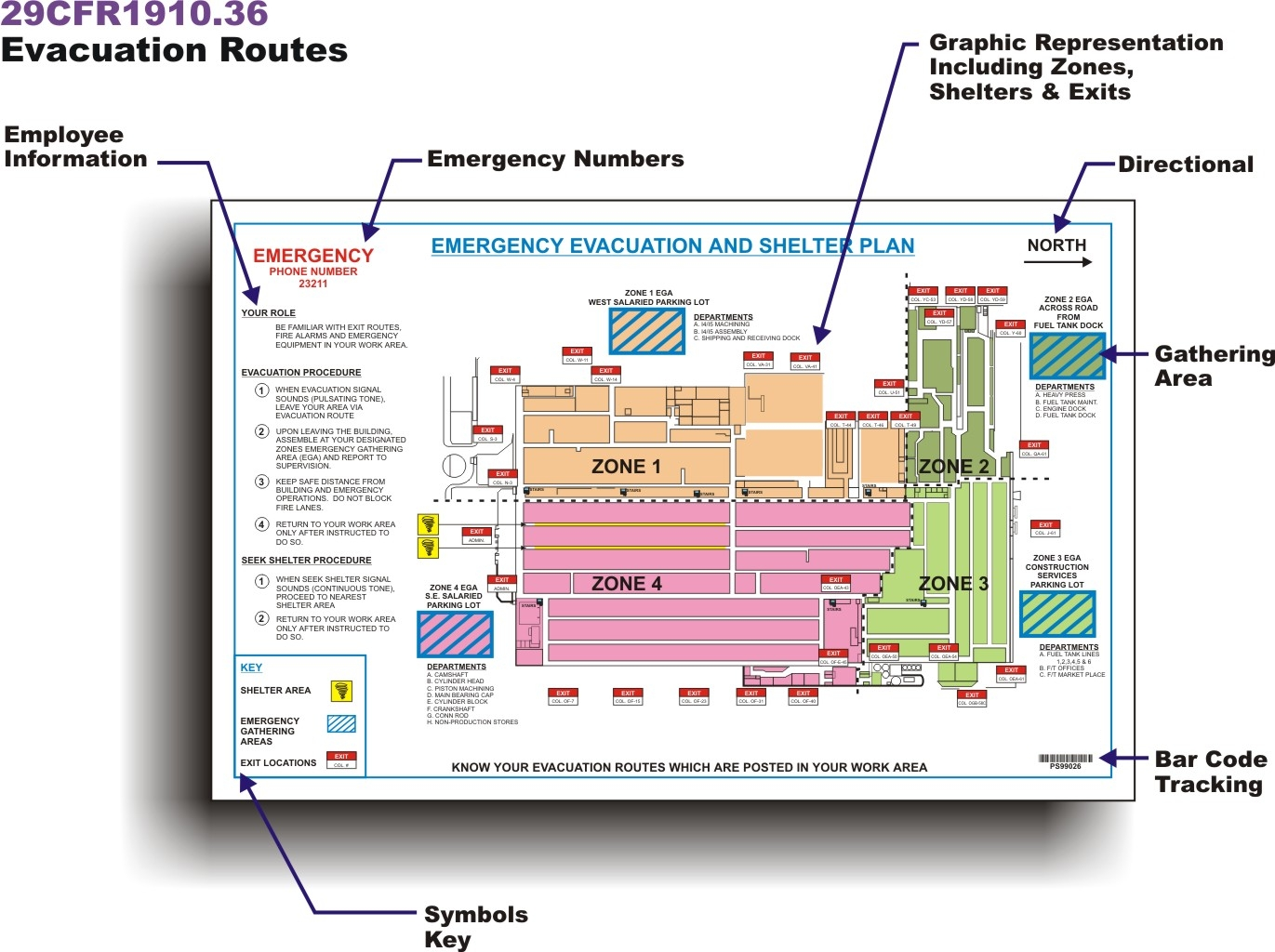 example of fire exit diagram the12volt com wiring diagrams emergency evacuation routes free