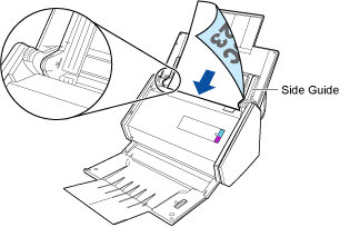 Scanning Envelopes and Documents with Sticky Notes Attached