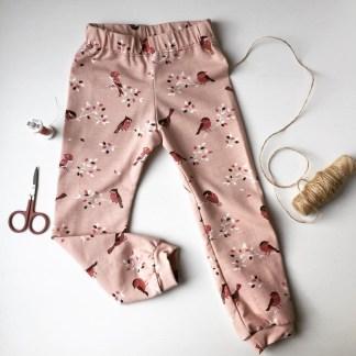 Pfündchen rosa Spatzen
