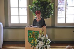 Festakt Ministerin Dr. Birgit Klaubert