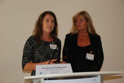 Begrüßung Eva Hammes-Di Bernardo und Inge Losch-Engler