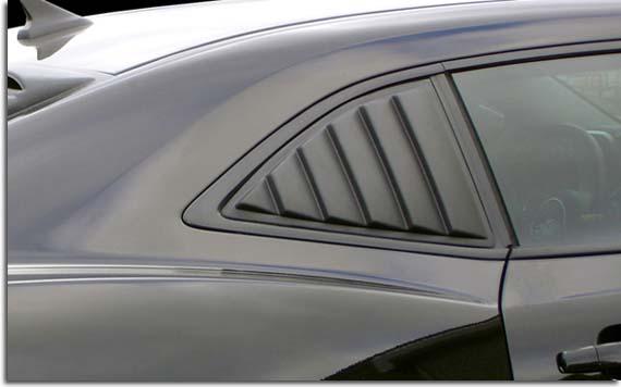 Side Window Louvers For 2010 2015 Camaro PFYC