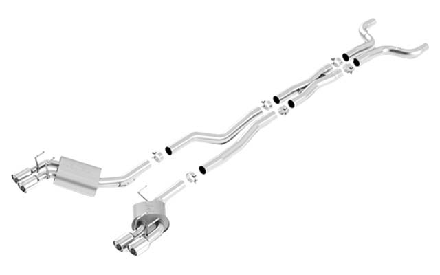 Borla 140495 ATAK Cat-Back Exhaust 2013 2014 2015 Camaro