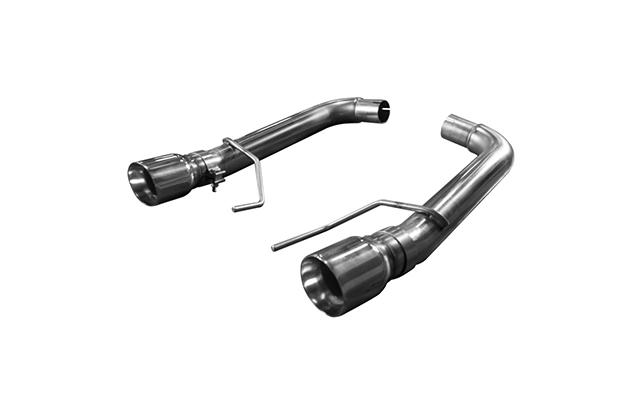 Kooks Axle-back w Polished Tips and Muffler Delete for