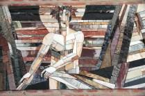 Kreuzweg Mosaik von Br. Benedict Schmitz OSFS, 1996