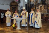 2015 - Festgottesdienst anlässlich der Visitation durch Weihbischof Florian Wörner