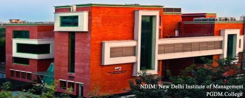 Ndim Delhi New Delhi Institute of management