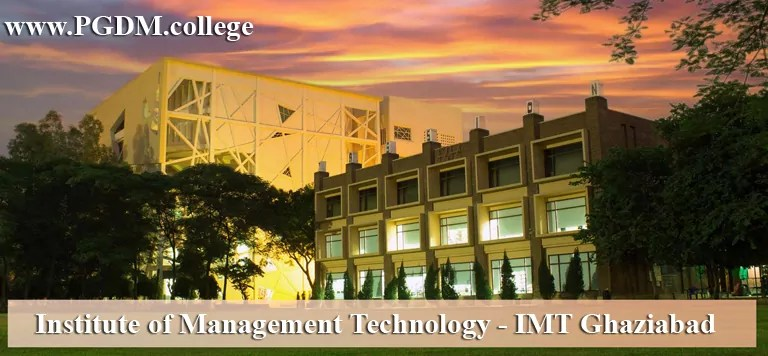 IMT Ghaziabad Admission 2021
