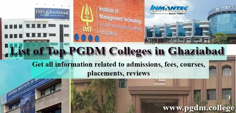 PGDM Colleges in Ghaziabad