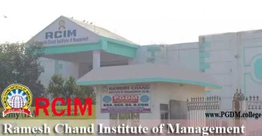 Ramesh Chand Institute Management