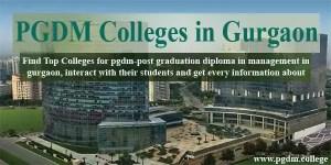 PGDM Colleges in Gurgaon