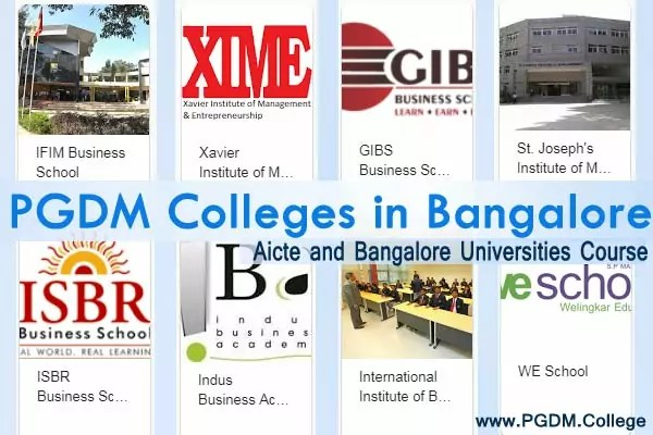 PGDM Colleges Bangalore