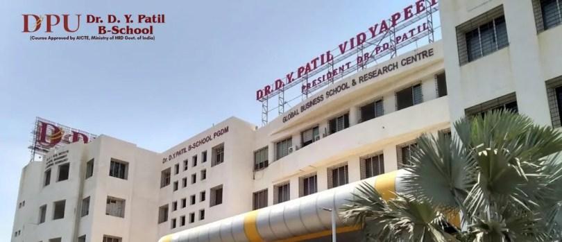 DY-Patil B-School campus