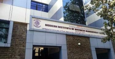 MIBM Pune campus