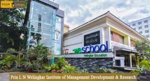 Prin L N Welingkar Institute of Management Development & Research, Mumbai