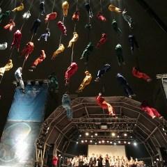 La Fura dels Baus a la Mostra d'Associacions de Barcelona