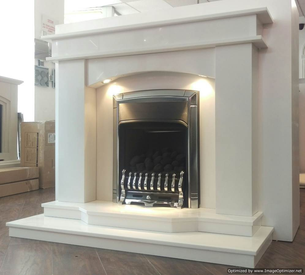 Galaxy Marble Fireplace