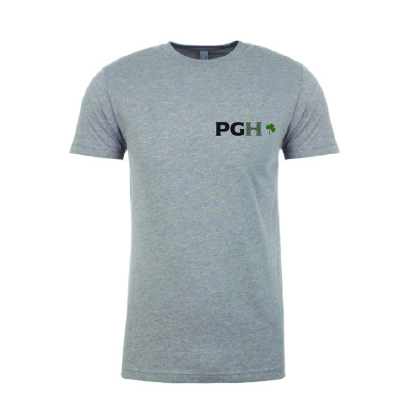 PGH St. Paddy's Gray T-Shirt