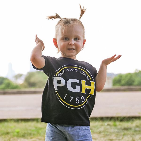 Pittsburgh Toddler TShirt