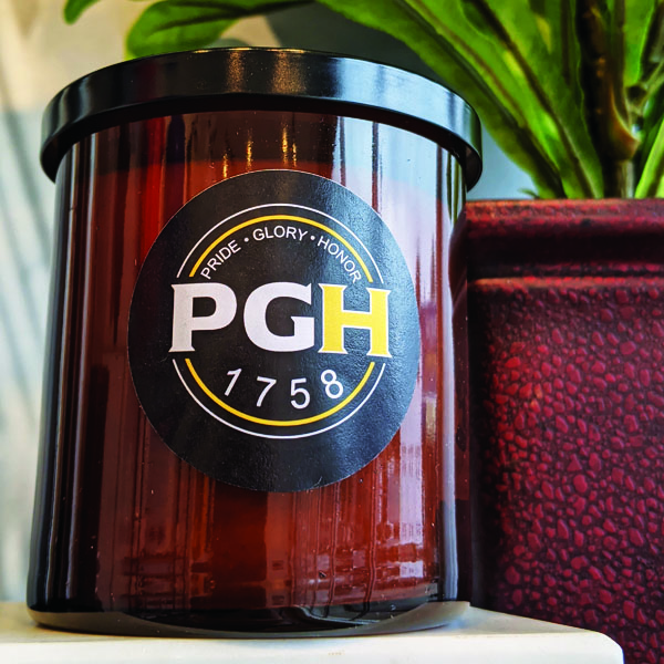 PGH Amber Candle
