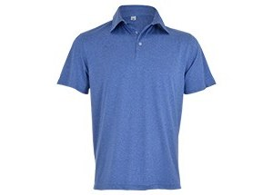 Beckham Golfer - Avail in: Melange Blue