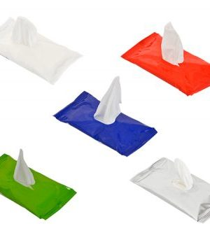 Go-Bac Hand Sanitizer Wet Wipes - Avail in: White