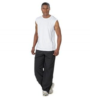 Muscle Hugger Vest  - Avail in: Black / White