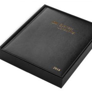 Craig Martini Executive Leather Time Management Desk