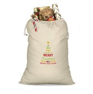 St Nicks Giant Cotton Drawstring Bag