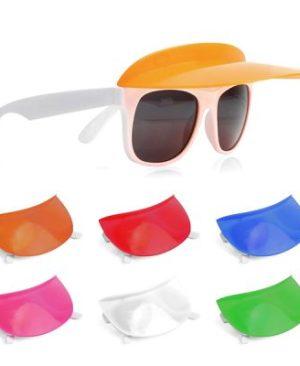 Plastic Sun Glasses & Sun Visor combo
