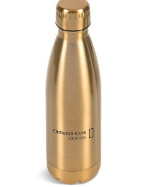 Discovery Water Bottle - Avail Gold or Silver