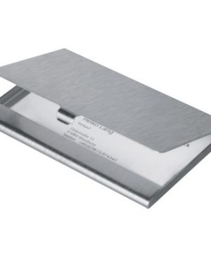 Aluminium card holder- matt finish