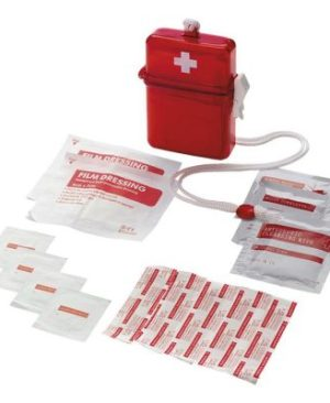 Waterproof First Aid Kit in Plastic Case