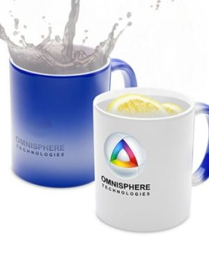 Colour Changing Mug - Avail in: Black