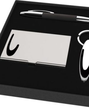 Office Gift set consisting of a card holder