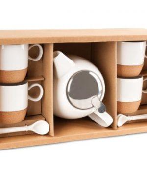 Jasmine Tea Set - Avail in: White