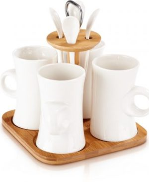 Venice Mug Set - Avail in: Ceramic White