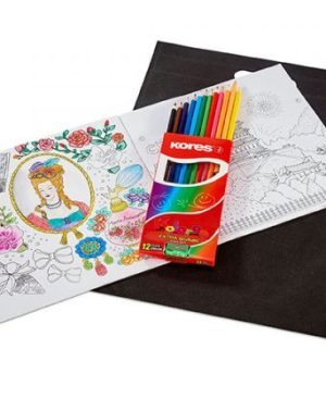 Tranquility Adult Colouring Set