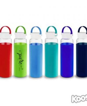 Kooshty Klean Glass Drinking Bottle - Avail in: Black