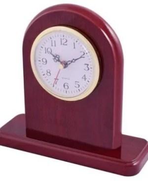 Rosewood Alarm Clock