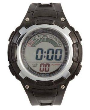 LCD Sports Wrist Watch - 3ATM