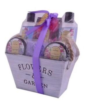 Flower & Garden Bath Set [6-Piece]