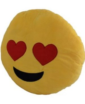 Emoji 40cm Cushion - Heart